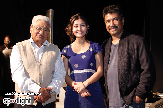 Durga Lal Shrestha,Shweta Punjali and Nhyoo Bajracharya