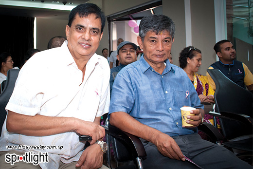 Hari Bansha Acharya and Madan Krishna