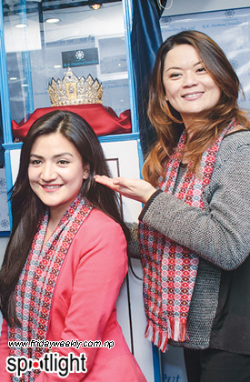 Subekshya Khadka and Rachna Gurung