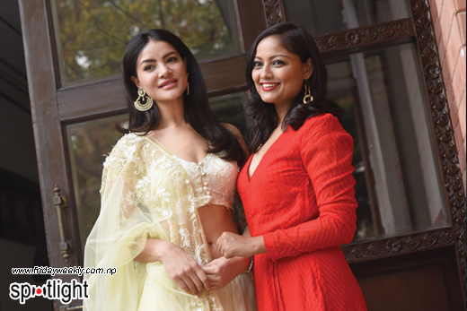 Shristi Shrestha and Richa Sharma